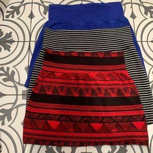 3!!! 🔥American Apparel Mini Skirts 🔥